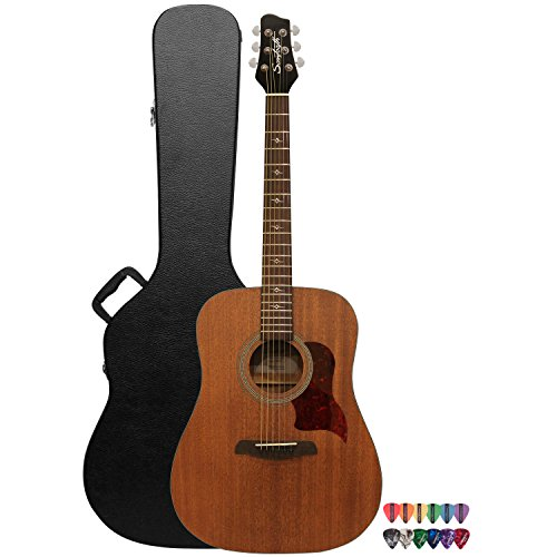 sawtooth solid mahogany top acoustic electric guitar with mahogany back and sides fishman. Black Bedroom Furniture Sets. Home Design Ideas